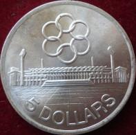 Singapour, 5 Dollars 1973 - Argent /silver - Singapour