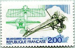 N° Yvert & Tellier 2544 - Timbre De France (1988) - MNH - Centenaire Naissance Roland Garros - Francia