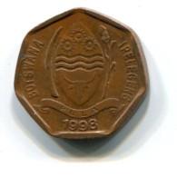 1998 Botswana 5 Thebe Coin - Botswana