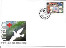 THAÏLANDE PREMIER JOUR FDC 1992 CROIX ROUGE - Thaïlande