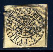 Italy  Roman States  Sc# 5  Used    1852 - Papal States