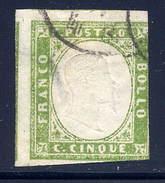 Italy  Sardania  Sc# 10a  Used    1862 - Sardinia