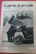 Le Miroir De La Route N° 143 2 Novembre 1930 Salon De La Motocyclette, Salon De L'Olympia à Londres - Auto