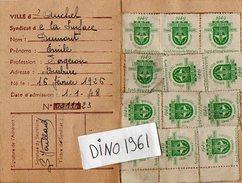VP6623 - Carte Confédérale De La C.G.T - Syndicat De La Surface - Ville De AUCHEL - Cartes