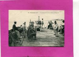 LA TREMBLADE  / MARENNES   1914  SUR LE BAC ENTRE LA GREVE ET CAYENNE      EDIT   CIRC  OUI - La Tremblade