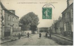 SAINT MARTIN D'AUXIGNY - Rue De La Gare - La Gendarmerie - Frankreich