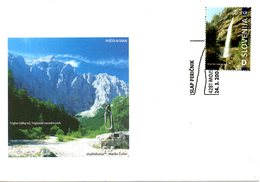 SLOVENIE. N°539 De 2006 Sur Enveloppe 1er Jour. Cascade. - Slovenia