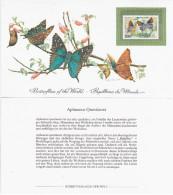 Zambia 1982 Butterfly Butterflies - Zambie (1965-...)