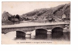 22 Saint Brieuc Le Legué Le Pont De Pierre Attelage Cheval , Carte Peu Fréquente - Saint-Brieuc