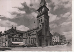 CP - PHOTO - SAINT DIE - EGLISE ET PLACE SAINT MARTIN - 8 - ROEDER - Saint Die