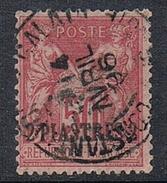 LEVANT N°5a  Variété Surcharge En Bas - Used Stamps
