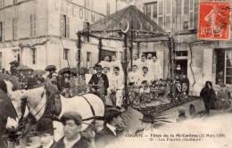 COGNAC FETES DE LA MI-CAREME (21 MARS 1909) LES PIERROTS CHANTEURS - Cognac