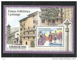 ANDORRE. Danses Et Fête De Santa Anna En Andorre. Un BF Neuf ** Haute Faciale, Année 2014 - Dance