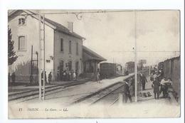 OSSUN : La Gare (avec Train) - édition LL N°17 - Belle Animation - Ossun