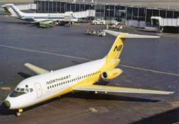DC9 NE Notheast Airlines DC 9-15 N8953U Airplane LGA - 1946-....: Moderne
