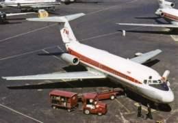 DC9 TWA Trans World Airlines DC 9-15 N1061T Airplane LGA - 1946-....: Moderne