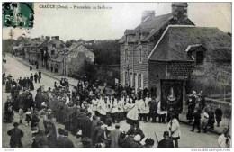 61 CEAUCE - Procession De Saint-Ernier - Très Animée - Autres Communes