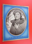 POLA NEGRI Schwarz Weiß Zigaretten Bunte Filmbilder Zigarettenbild Hänsom Film Stars Filmphoto Chromo Image - Cigarette Cards