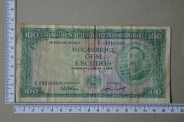 MOZAMBIQUE 100 ESCUDOS 1961 -     2 SCANS - (Nº16969) - Mozambique
