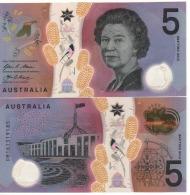 AUSTRALIA New  JUST ISSUED  $ 5  POLIMER. Attrattive.  2016.  UNC - Emissioni Governative Decimali 1966-...