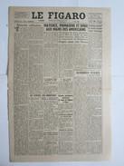 Journal Le Figaro 1945 24 Mars Mayence Pirmasens Spire - Newspapers