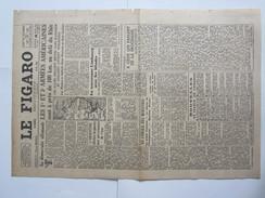 Journal Le Figaro 1945 28 Mars Wursbourg Mannheim - Newspapers