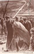 CPA Guerre 14 Anti-Kaiser Guillaume II Epée Patriotique Caricature Humour - Humoristiques