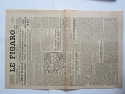 Journal Le Figaro 1945 28 29 Janvier Général De Gaulle - Newspapers