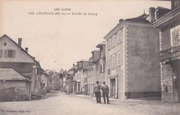 CPA VOIR SCAN CHORGES ENTREE DU BOURG FOURNIER 1981 JOLIE CARTE - Other Municipalities