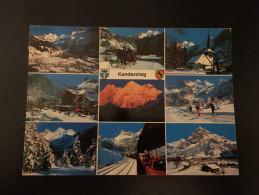 Kandersteg Berner Oberland Philately Postage Stamp Postmark - Zonder Classificatie