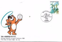 KOREA  SEOUL  Jeux Olympiques De Seoul 1988 Hockey Sur Gazon  1/11/86