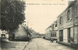 -ref-N595- Allier - Le Brethon - Bureau De Poste - Postes - Rue Du Commerce - Cafe Restaurant - Restaurants - - Frankrijk