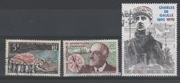 LOT 165 TAAF N°19-20 PA N°118 OBLITERE - Colecciones & Series