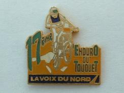 PIN'S MOTO - 17éme ENDURO DU TOUQUET VERT - LA VOIX DU NORD - Motorbikes