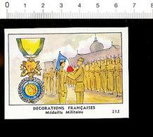 Chromo Image Chocolaterie De L´Union / Médaille Militaire / Décorations Françaises Décoration / IM 121/1 - Cigarettes