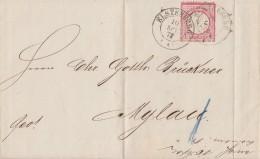 DR Brief EF Minr.19 K2 Elsterberg 10.9.73 Gel. Nach Mylau - Deutschland