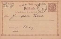 DR Ganzsache Bpst. K2 Leipzig-Hof 2.3.  Seltener Stempel - Deutschland
