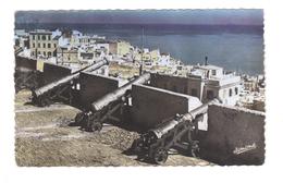 ALGER. Les Vieux Remparts Avec Leurs Canons Turcs. - Algérie