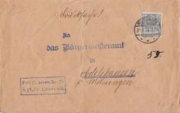 DR Brief Dienst EF Minr.D1 Melsungen 21.8.03 - Dienstpost