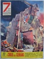 327/110  WWII OTTOBRE 1959 FOTOSTORIA ANNI DI GUERRA  N.77  IL CROLLO DELLA GERMANIA TUTTA ILLUSTRATA - Libri, Riviste, Fumetti