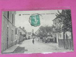 BETHINES / ARDT MONTMORILLON  1910   BUREAU DE POSTE / ROUTE DE BELABRE    EDIT   CIRC  OUI - Other Municipalities