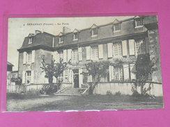 BENASSAIS  / ARDT MONTMORILLON  1910   LA  POSTE   EDIT   CIRC  OUI - Other Municipalities