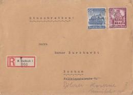 DR R-Brief Mif Minr.758,759 M.Gladbach 18.3.41 - Deutschland