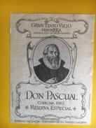 2608 - Espagne Navarra Don Pascual 1983 - Etiquettes