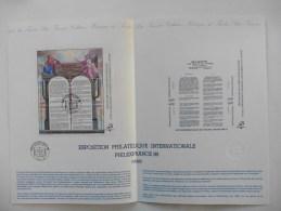 France: Document Officiel : Hors Série :Exposition Philatélique Internationale Philexfrance 89 1 Er Jour - Documents De La Poste