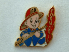 PIN'S SAPEURS POMPIERS THUMERIE - Feuerwehr