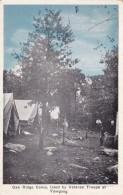 Rockville Rhode Island, Camp Yawgoog Boy Scouts, Oak Ridge Camp Veteran Troops, C1920s Vintage Postcard - Scouting