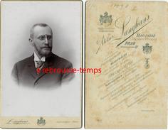 Cabinet-homme Binocles-photographe Langhans Fournisseur Comtesse De Paris Et Princesse Hélène De France-Marienbad-Prag - Photos