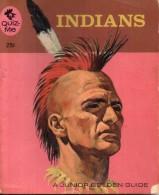 Indians - Sonia Bleeker -  Junior Golden Guide - Quizme - Golden Press New York - Enfants
