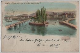 Geneve - Ou Se Promene La Petite Savoyarde? - Litho Carl Künzli No. 5005 - GE Genève